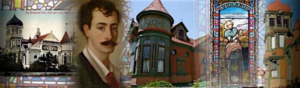 a collage of the villa montezuma museum