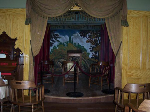 interior of the whaley house