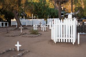 The Haunted El Campo Santo Cemetery