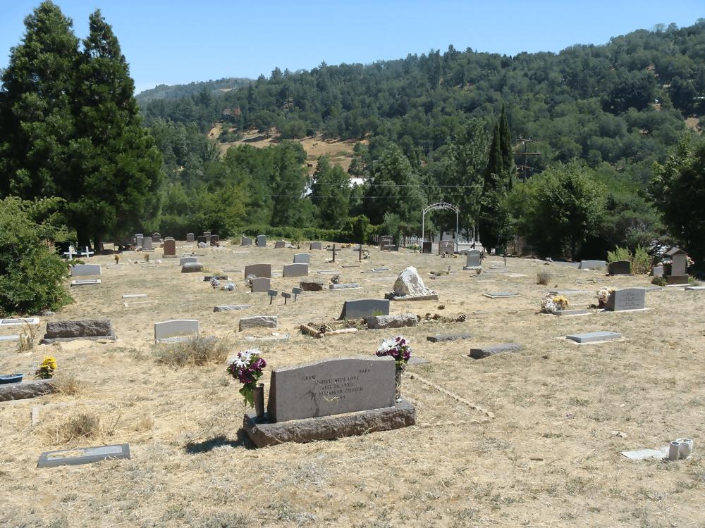 Julian Cemetery in San Diego