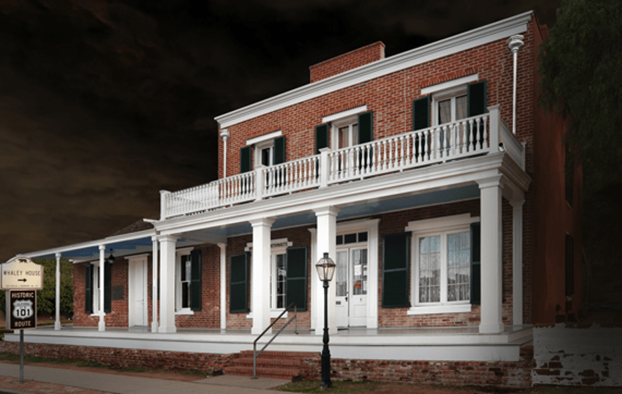 The Whaley House in San Diego